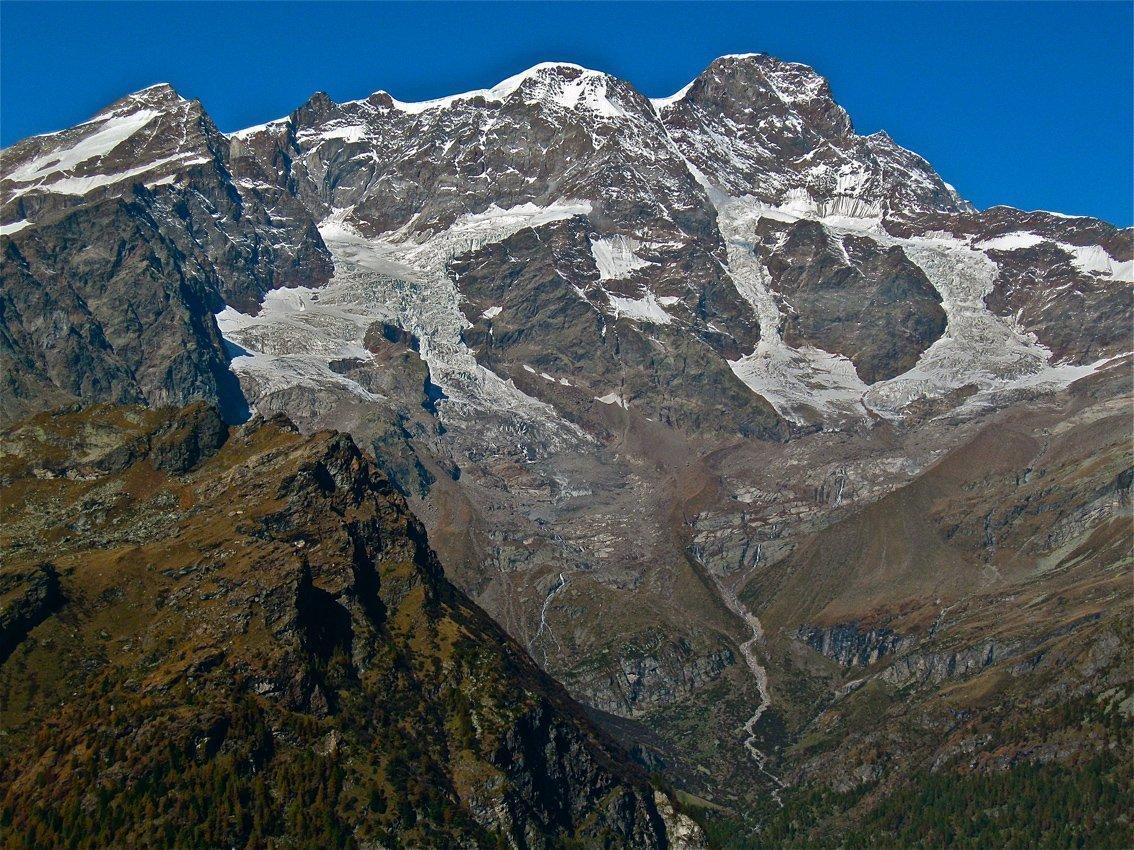 Il Monte Rosa da Sattal